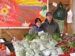 Jen and Matt at Farmers Market